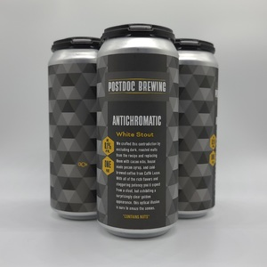 Antichromatic White Stout - 4pk Cans TO GO